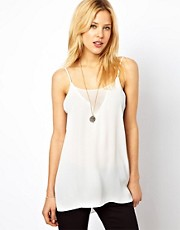 Mango Drape Cami Top