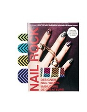 Parches para uas con diseo de chevron de Nail Rock
