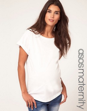 Image 1 ofASOS Maternity Boyfriend T-Shirt