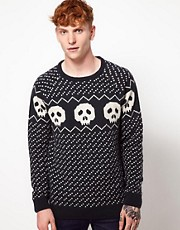 Humor Skully Jumper