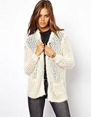 ASOS Fluffy Eyelash Cardigan