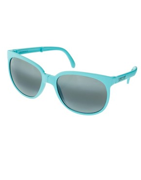 Image 1 ofSunpocket Matte Turquoise Sport Foldaway Sunglasses