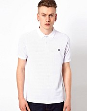 Fred Perry Polo with Pindot Print