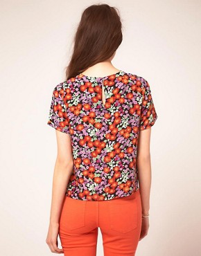 Image 2 ofWhistles Garden Flower Floral Top