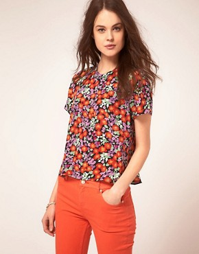 Image 1 ofWhistles Garden Flower Floral Top