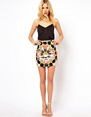 Needle &amp; Thread Mexica Mini Skirt