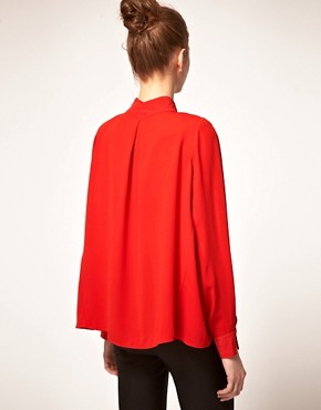 Image 2 ofVero Moda Very Drape Back Blouse