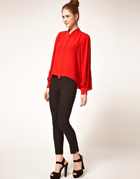 Image 4 ofVero Moda Very Drape Back Blouse