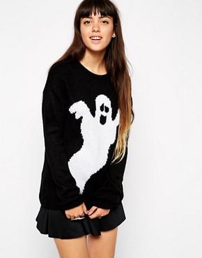 ASOS Halloween Ghost Jumper