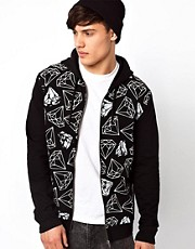 River Island Diamond Hoodie