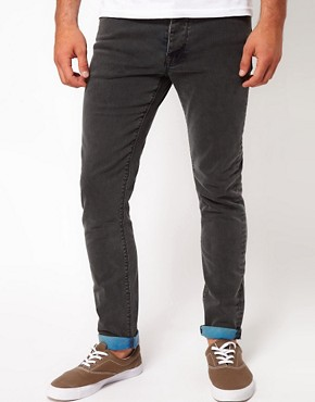 Image 1 ofASOS Skinny Fit Jeans In Acid Wash