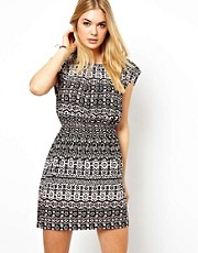 Vila Ikat Mini Dress