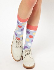 Calcetines con lunares grandes de Happy Socks