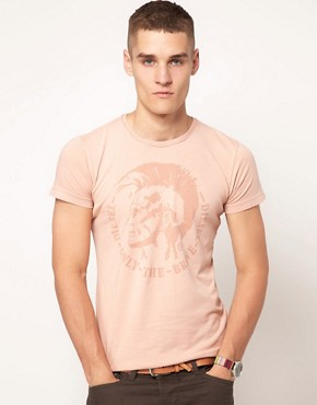 Image 1 ofDiesel T-Achel Mowhawk T-Shirt