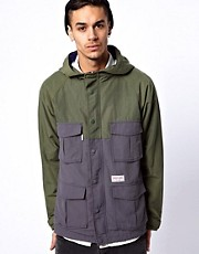 Undefeated Jacket 2 Tone Hooded