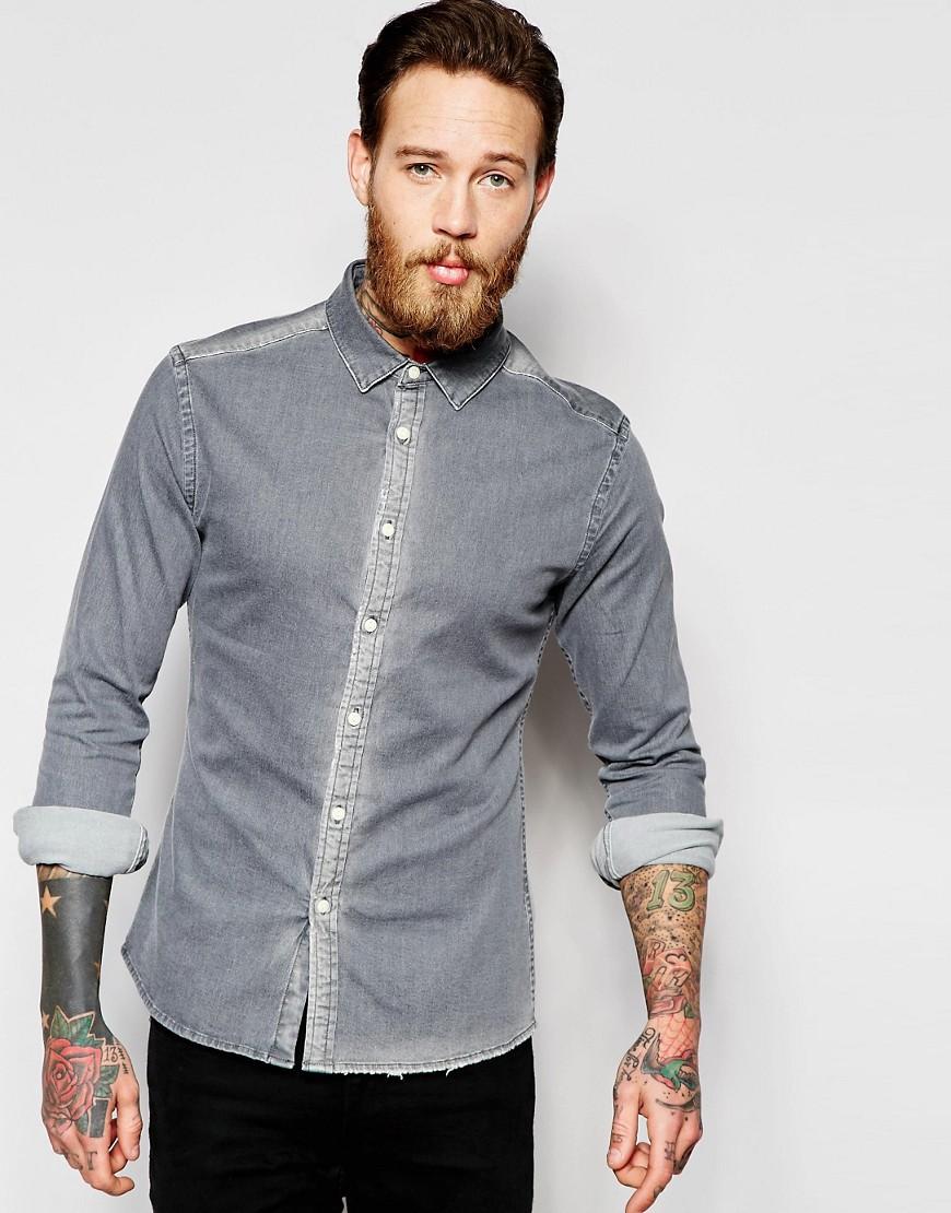asos-skinny-denim-shirt-with-rip-repair-in-long-sleeve-black