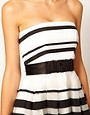 Image 3 ofCoast Stripe Jackie Bandeau Dress