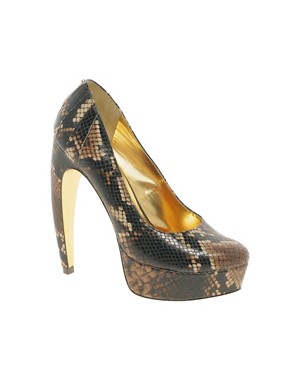 Image 1 ofTed Baker Sawp Platform Court Shoes