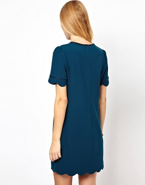 Image 2 of Whistles Scallop Hem Dress