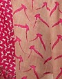 Image 2 ofWarehouse Mixed Bird Print Scarf