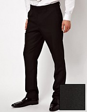 Pantaln de esmoquin de corte slim de ASOS