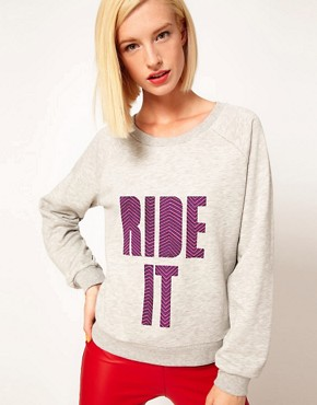 Image 1 ofHouse of Holland Ride It Sweatshirt