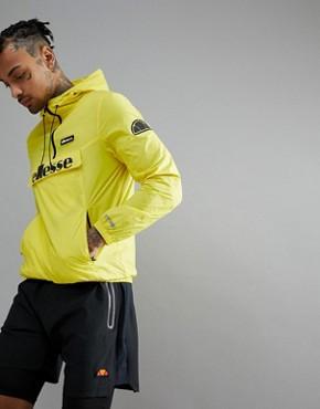 ellesse Sport Overhead Jacket In Yellow