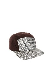 ASOS 5 Panel with Diamond Print Peak