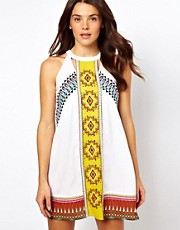 River Island Misha Mexican Dress