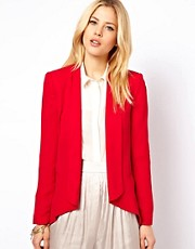 Mango Drape Front Jacket