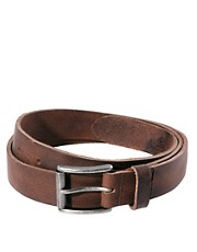 River Island Leather Chino Belt