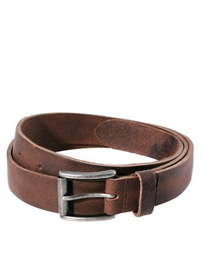 Image 1 ofRiver Island Leather Chino Belt