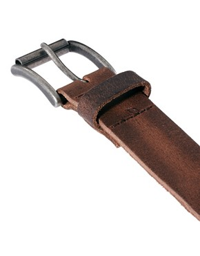 Image 2 ofRiver Island Leather Chino Belt