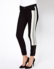 Rag &amp; Bone Skinny Racer Jeans