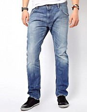Diesel  Krooley 816P  Regulre Jeans mit Karottenschnitt