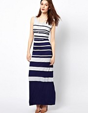 Warehouse Stripe Maxi Dress