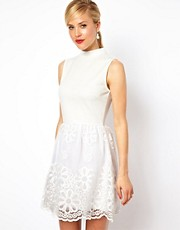 ASOS - Prom dress a collo alto