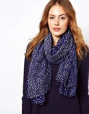 Warehouse Grad Spot Scarf