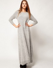 Kore Angora Floor Length Dress