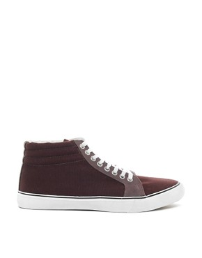 Image 4 ofASOS Trainers With Padded Cuff