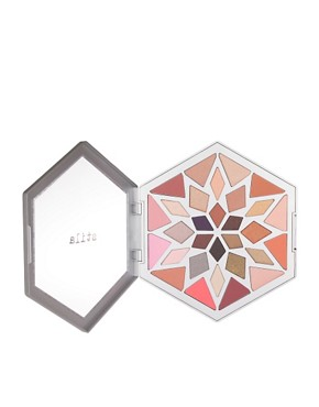 Image 2 ofStila Limited Edition Large Snowflake Eye Shadow Palette With FREE Mascara