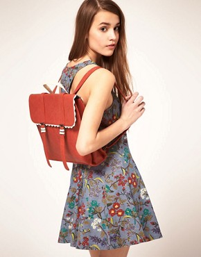 Image 3 ofASOS Scallop Edge Backpack
