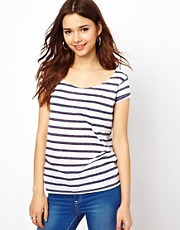 River Island Stripe Boyfriend Tee