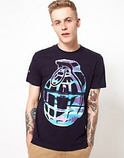 Trainerspotter T-Shirt Aztec Grenade