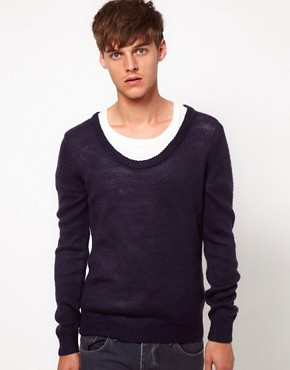 Image 1 ofAntony Morato Scoop Neck Jumper