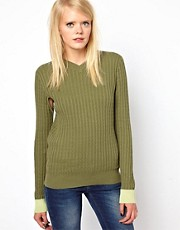 Antipodium &ndash; Default &ndash; Pullover mit Cape-rmeln