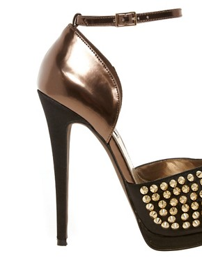 Image 2 ofSteve Madden Obstcl-s Stud Platform Sandals