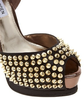 Image 3 ofSteve Madden Obstcl-s Stud Platform Sandals