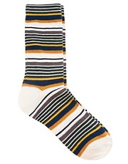 Humor Multi Stripe Socks