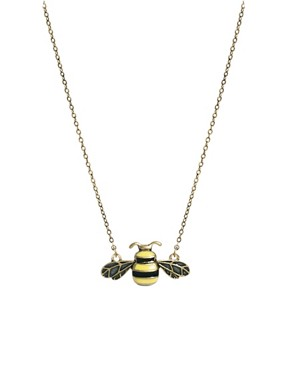 Image 1 ofCath Kidston Bumble Bee Enamel Tiny Pendant